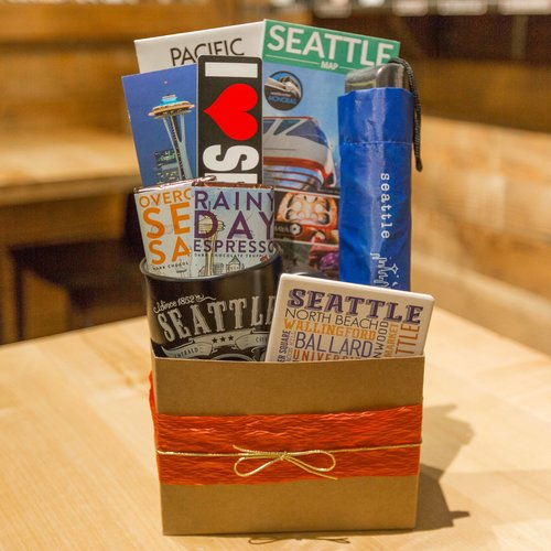 Welcome to Seattle Deluxe Gift Basket