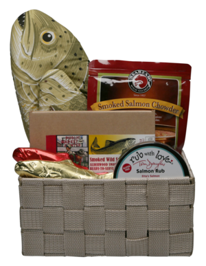 Simply Salmon Deluxe Gift Basket