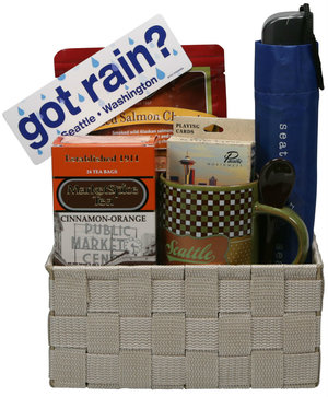 Rainy Day Deluxe Gift Basket