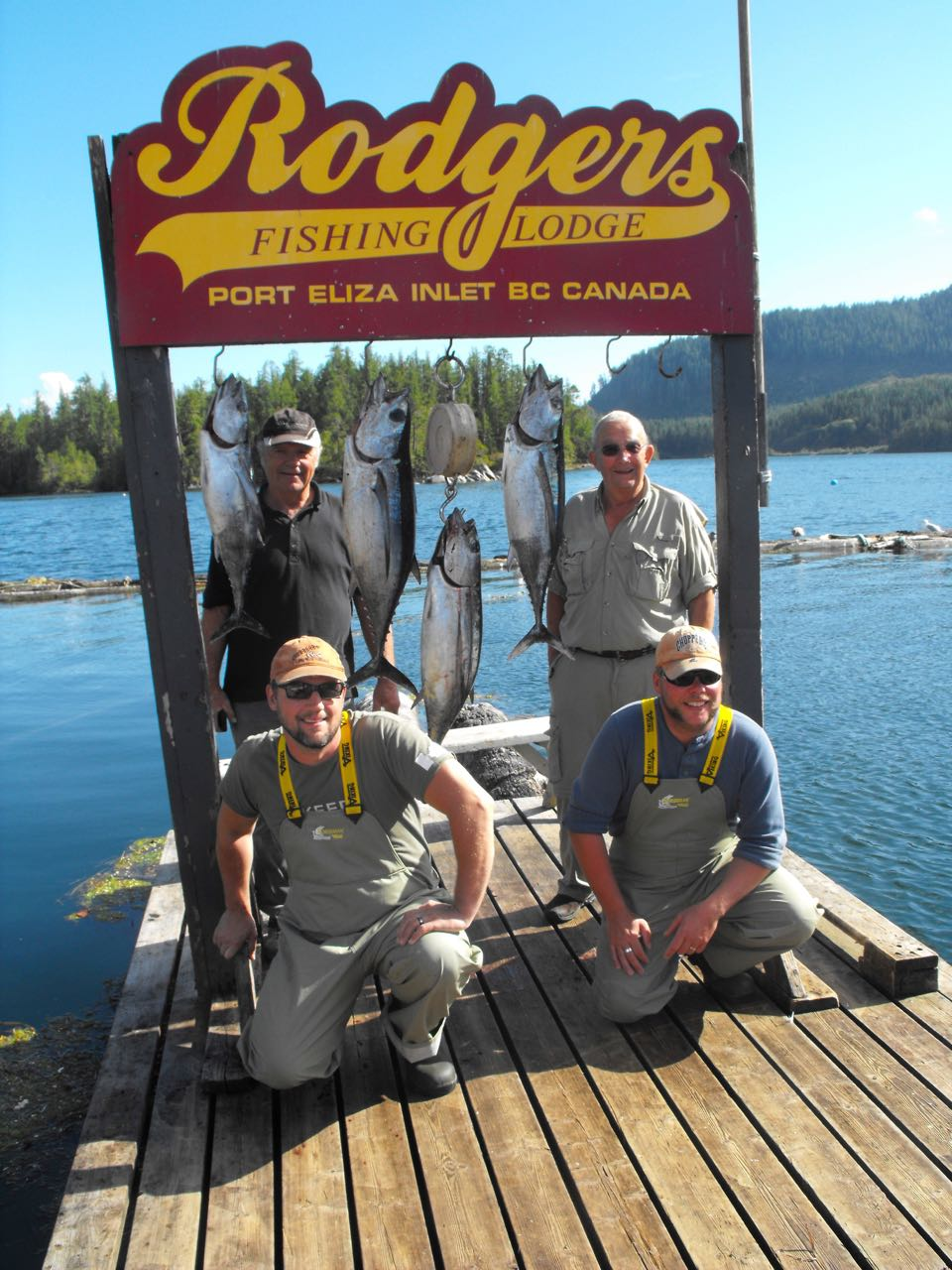 Vancouver Island Fishing Trip July 30th-August 2nd 2017