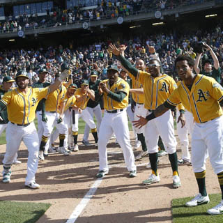 Oakland A's Season Tickets - MVP Section