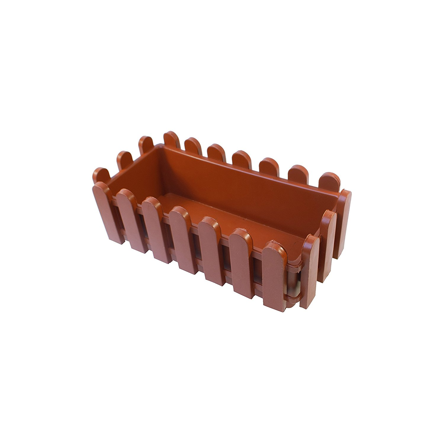 Terra Cotta Thermoformed Picket Fence Nursery Plastic Garden Seedling Pots