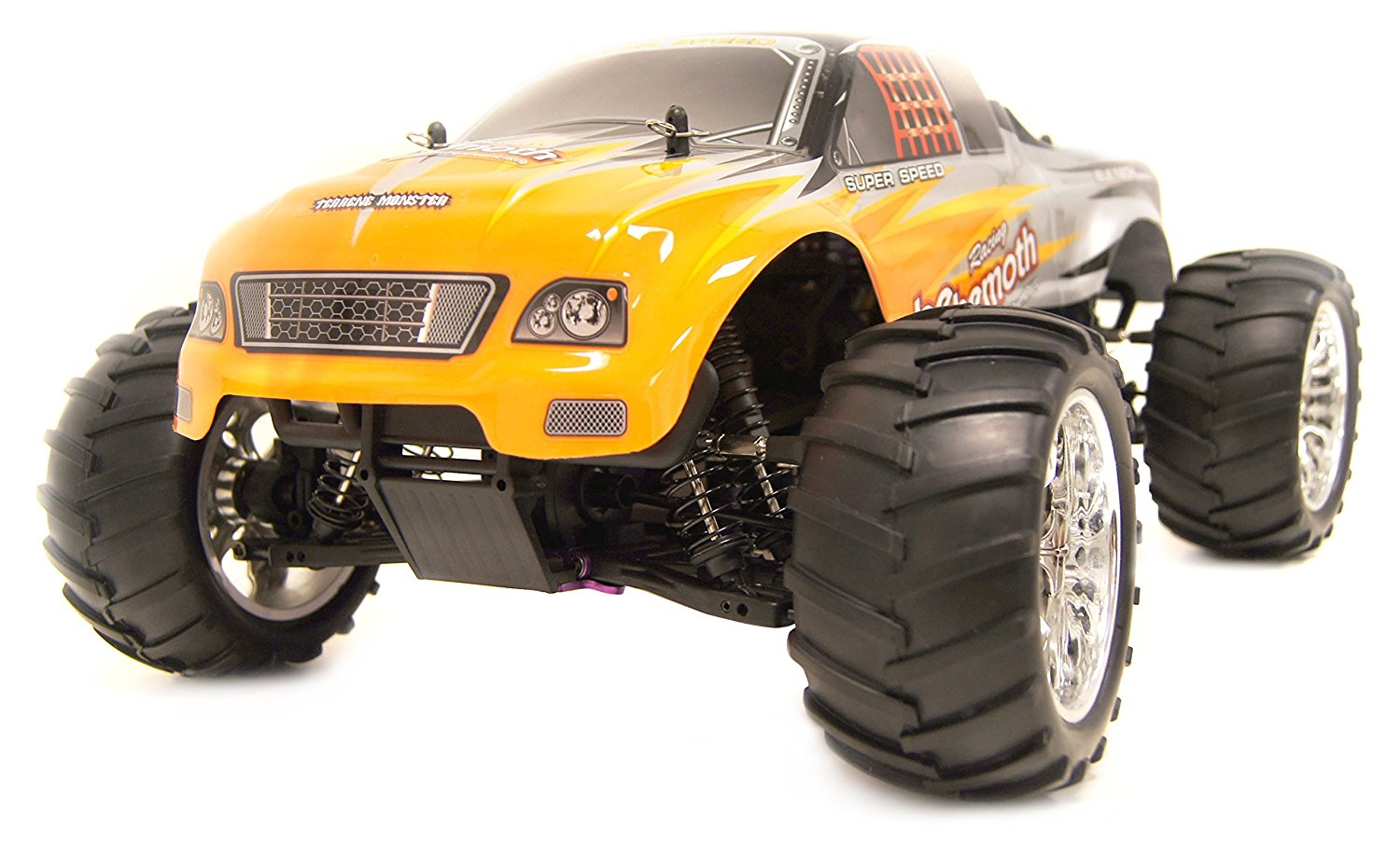 4WD Nitro Powered High Speed Off Road Monster Truck Vertex 18 CXP, Orange 1/10