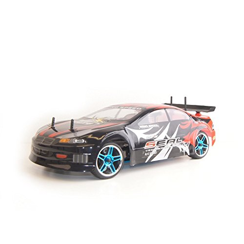 4WD Nitro Powered High Speed Vertex 18 CXP On RoadRacing Car, Red 1/10 Scale