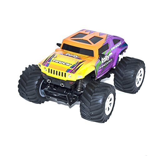 4WD 2.4 Ghz Electric Power High Speed Mini RC Hummer, Purple 1/24 Scale