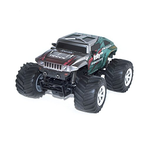 4WD 2.4 Ghz Electric Power High Speed Mini RC Hummer, Silver 1/24 Scale