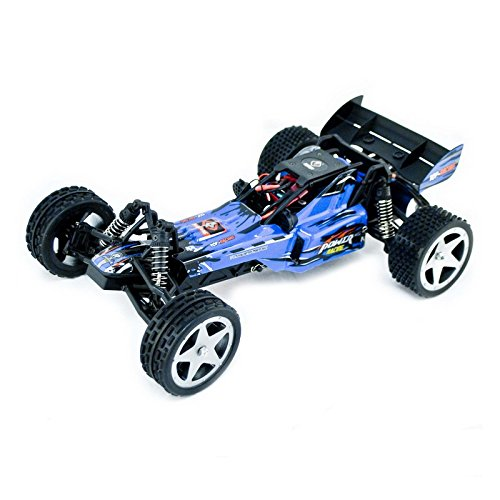 Electric Powered Brushless Motor High Speed Off-Road Buggy, Blue 1/12 Scale