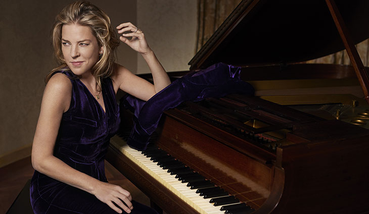 Diana Krall at the Chateau St Michelle Winery