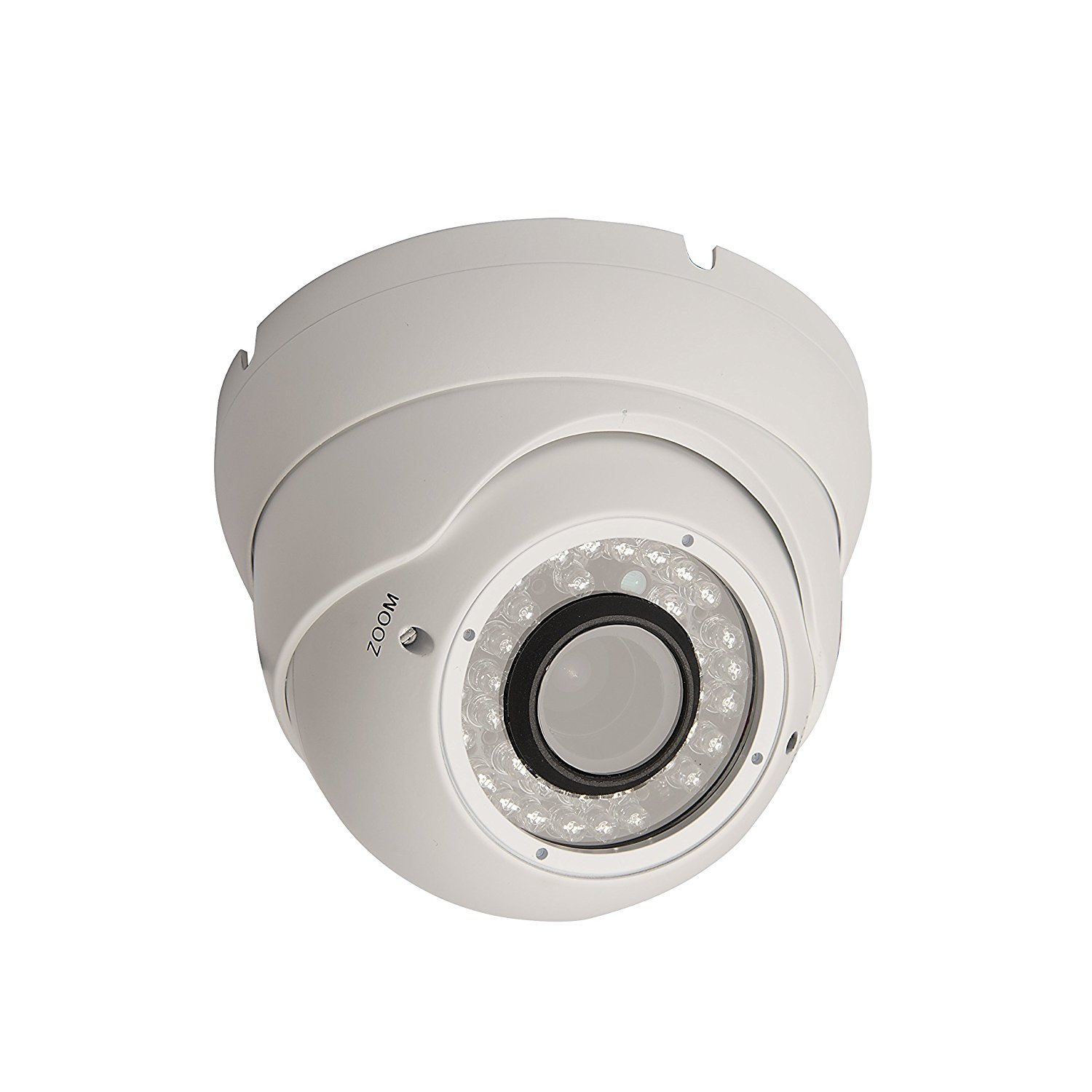 2.0 Mega Pixel Professional Surveillance Security Dome Camera, White Color