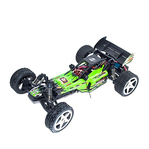 Electric Powered Brushless Motor High Speed Off-Road Buggy, Green 1/12 Scale
