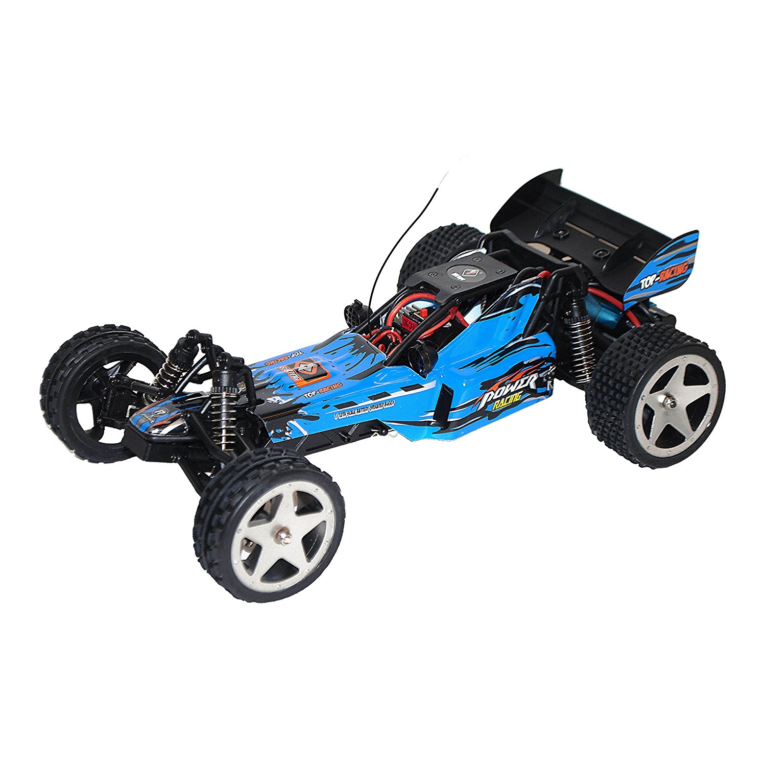 2WD 2.4 Ghz Electric Power High Speed Off-Road Buggy, Blue 1/12 Scale