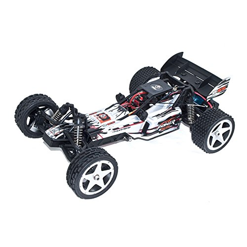 2WD 2.4 Ghz Electric Power High Speed Off-Road Buggy, Light Gray 1/12 Scale