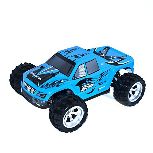 4WD Off Road Battery Powered High Speed Monster Truck 1/18 Scale