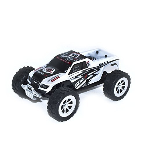 2WD 2.4Ghz Electric Power Truck With Proportional Steering, White 1/24 Scale