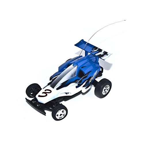 40Mhz Electric Power Toy Mini RC Buggy, Blue 1/52 Scale