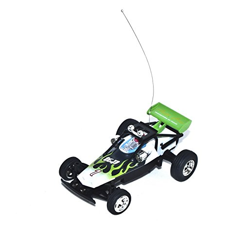 27Mhz Electric Power Toy Mini RC Buggy, Green 1/52 Scale