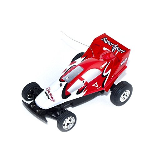 35Mhz Electric Power Toy Mini RC Buggy, Red 1/52 Scale