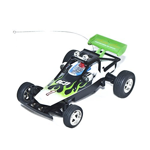 27Mhz Electric Power Awesome Mini RC Buggy, Green 1/52 Scale