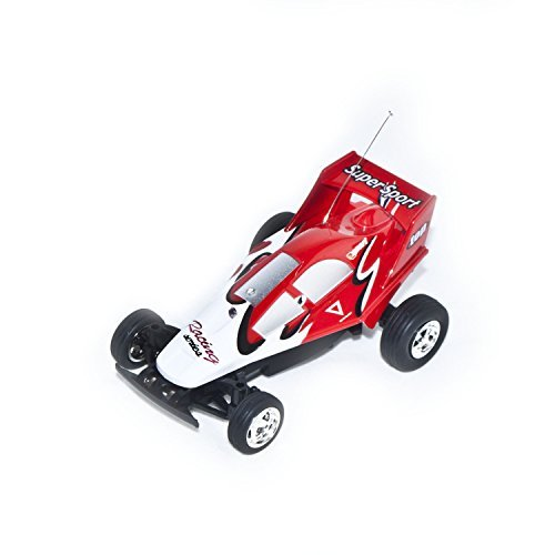 35Mhz Electric Power Awesome Mini RC Buggy, Red 1/52 Scale