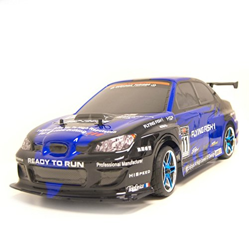 4WD Brushless Electric Powered On-Road RC PRO Touring Car, Blue 1/10 Scale