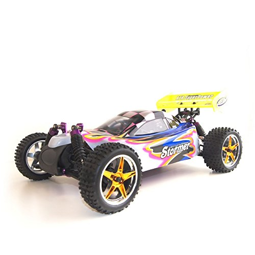 4WD 2.4 Gh Nitro Powered Vertex 18 CXP Off Road Buggy, Pink 1/10 Scale