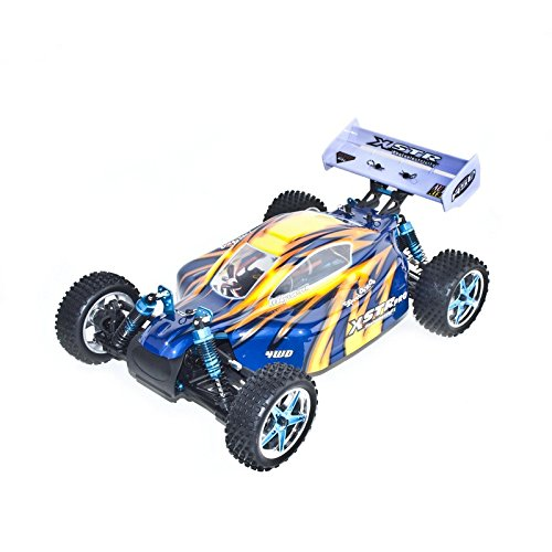 4WD Brushless Electric Powered RC PRO Off Road Buggy, Blue 1/10 Scale