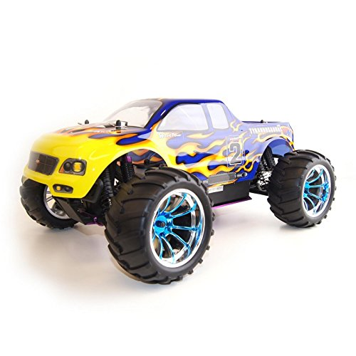 Vertex 18 CXP 4WD Nitro Powered High Speed Off Road Monster Truck, Blue