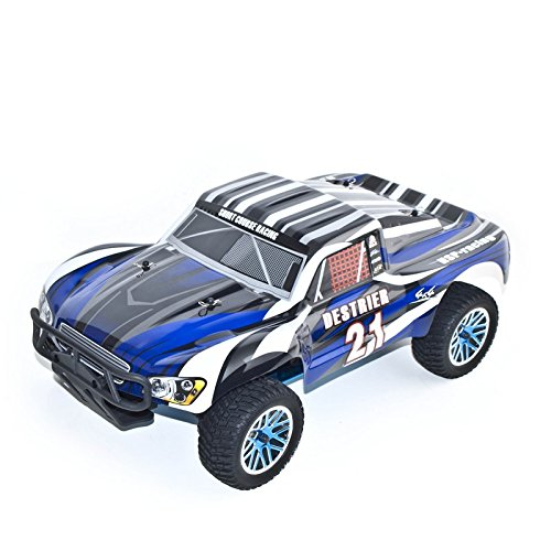 4WD Nitro Powered High Speed Vertex 18 CXP Advanced Short Course Truck, Blue
