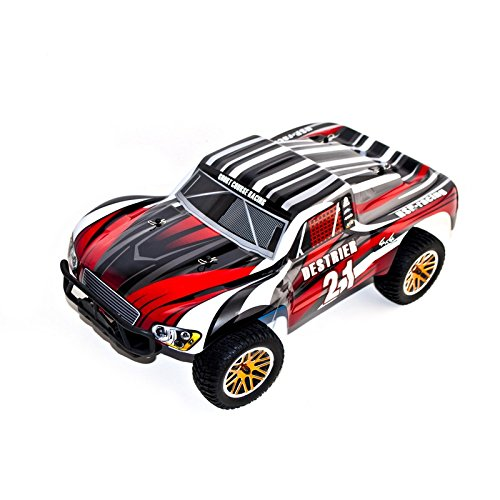 4WD Nitro Powered High Speed Vertex 18 CXP Advanced Short Course Truck, Red 1/10