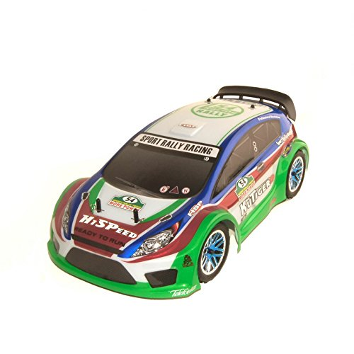 Vertex 18 CXP 4WD 2.4 Gh Nitro Powered Short Course Rally Car, Blue 1/10 Scale