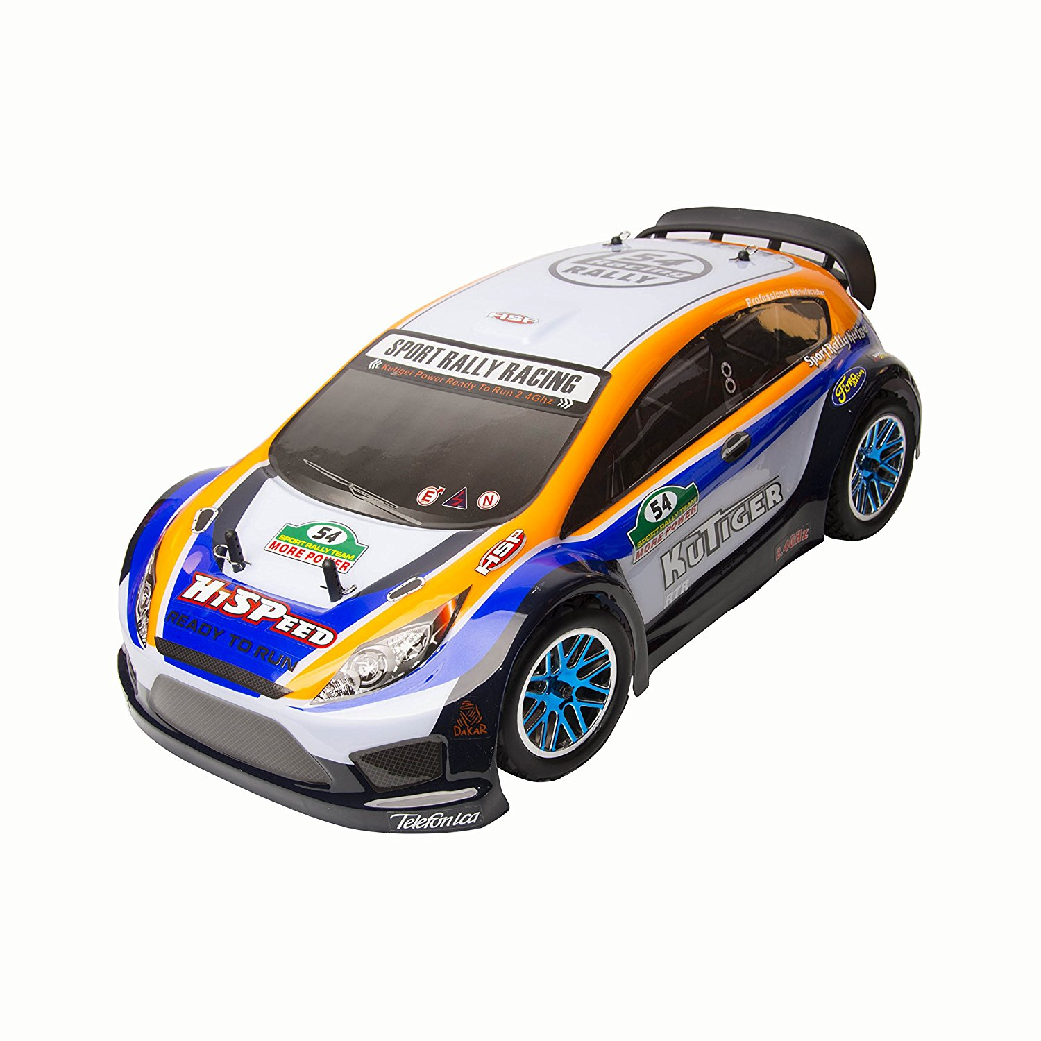 Vertex 18 CXP 4WD 2.4 Gh Nitro Powered Short Course Rally Car Yellow 1/10 Scale