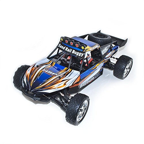 4WD Electric Powered High Speed Off Road Buggy, Blue 1/10 Scale