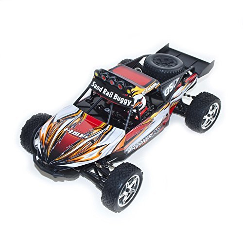 4WD Electric Powered High Speed Off Road Buggy, Orange 1/10 Scale