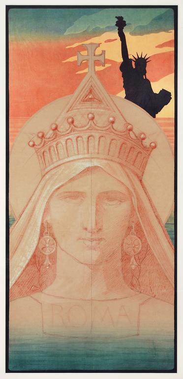 Tales of Two Liberties , 2015 Lithograph
