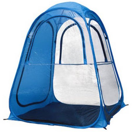 Large Outdoor Portable Pop Up Pet Tent Travel Safety Camping Pet Shelter, Blue