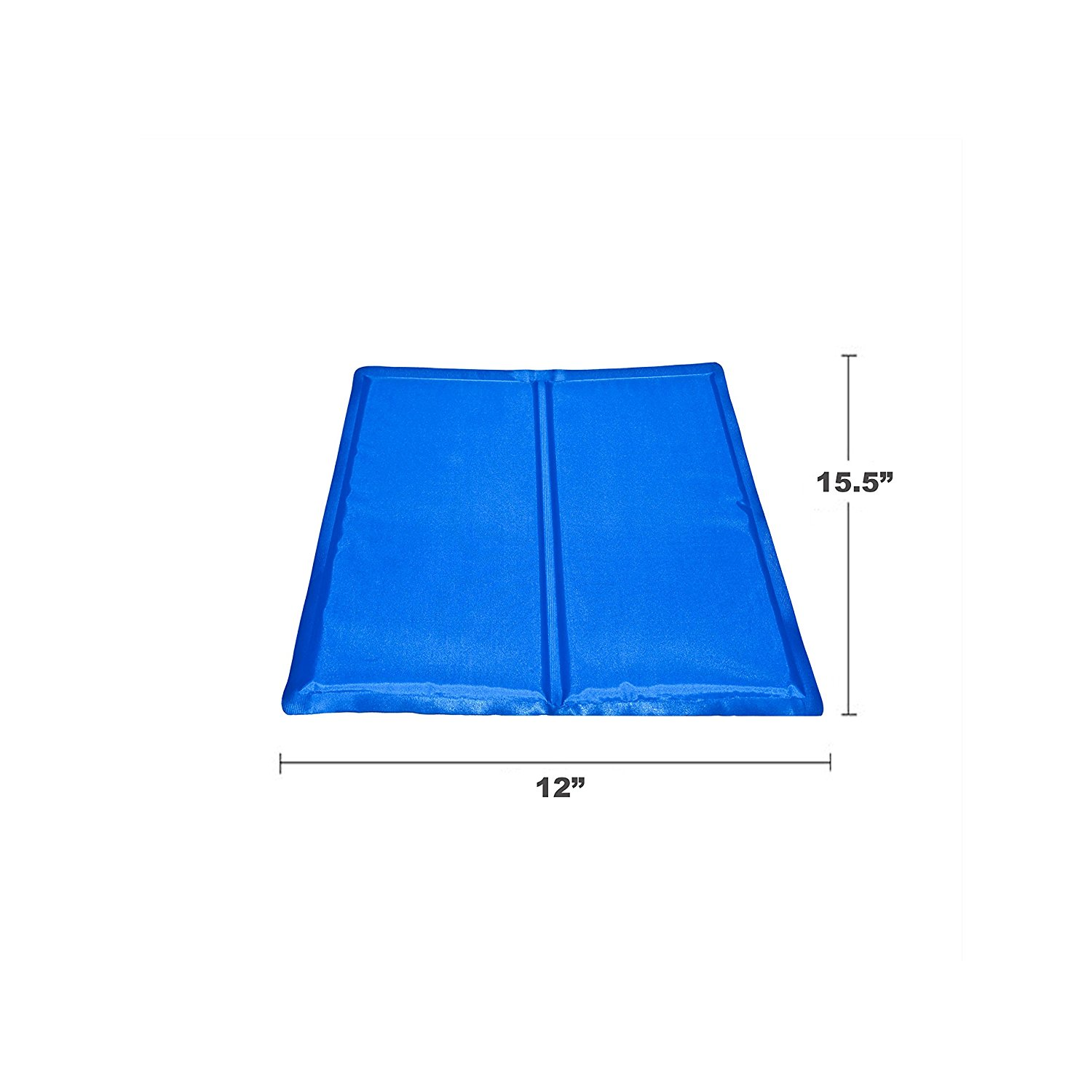 Pet Cooling Mat Cool Bed 15.5 x 12 Inch Blue Pet Cooling Mat,Small