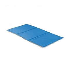 X-Large Pet Cooling Mat Cool Bed 35 x 19.5 Inch Blue Pet Cooling Mat