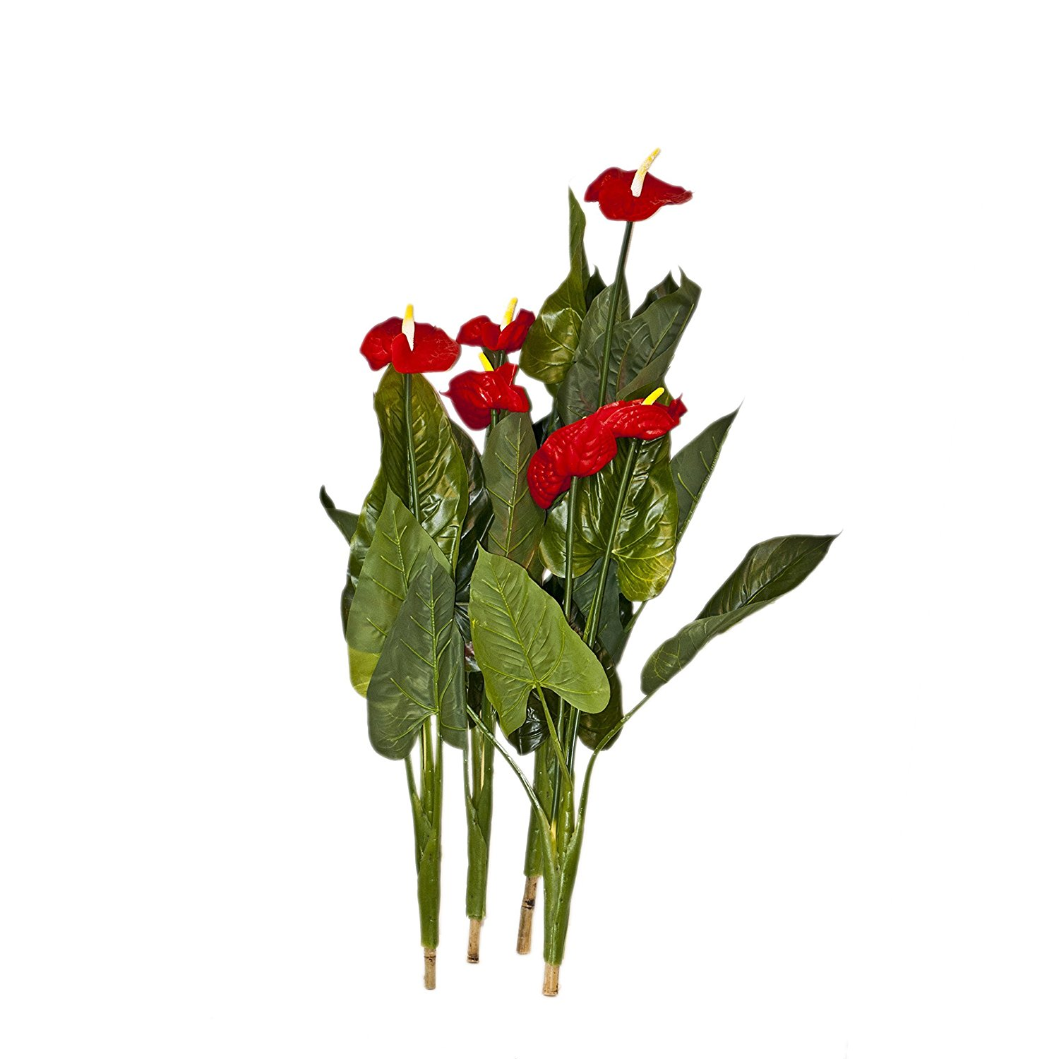 41 Inch 4 Red Calla Artificial Plant Flowers