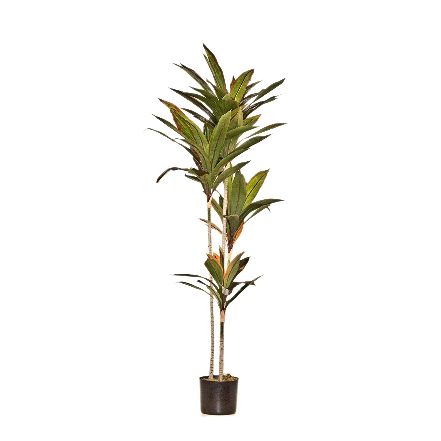 63 Inches Brazil Leaf Bonsai Artificial Plant for Home Decor
