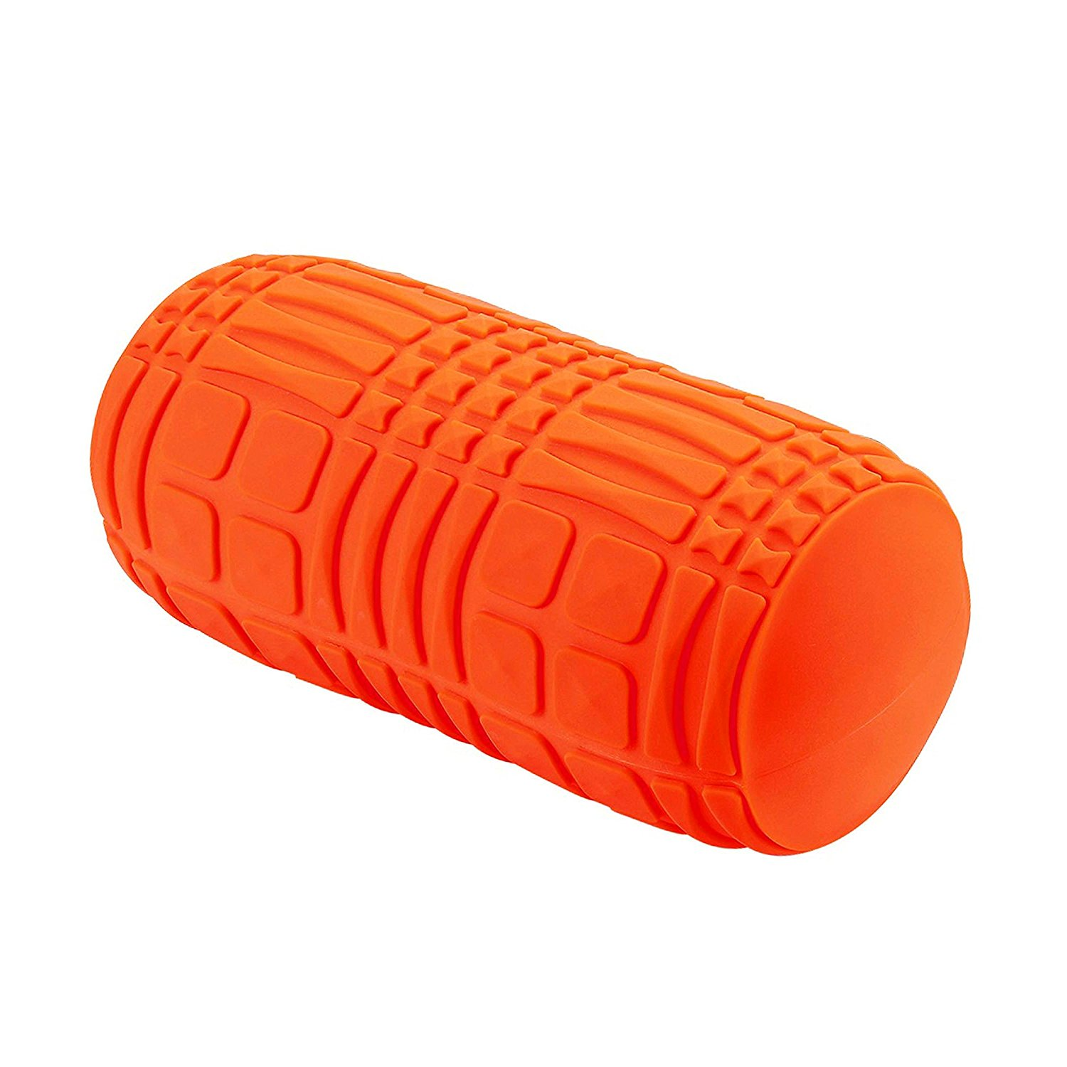 F3BROR Grid Textured Balance Roller Muscle Relaxing Deep Tissue Massage Roller