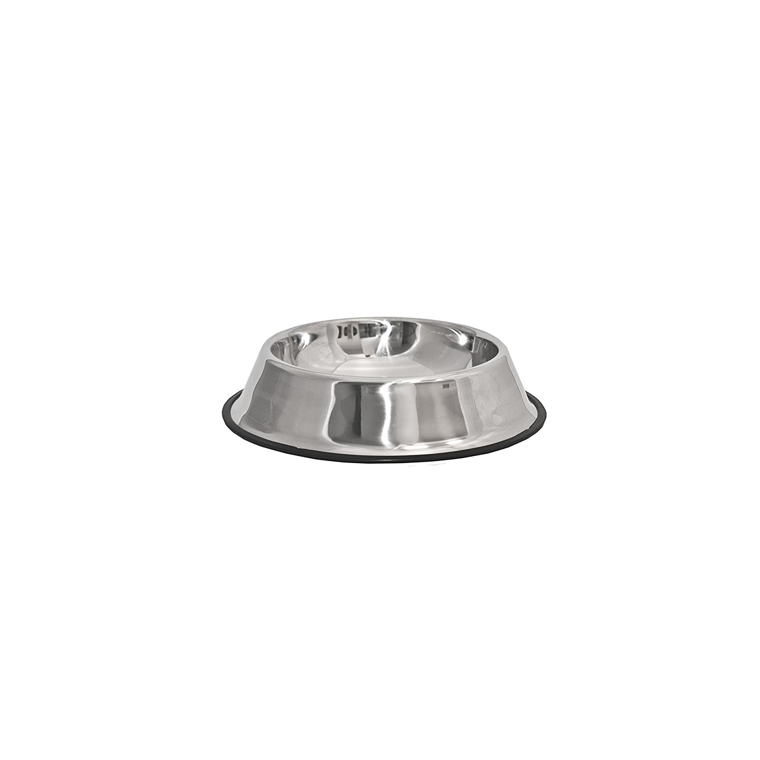 PSSB02M Stainless Steel Pet Dog Cat Puppy Food Bowl, Medium