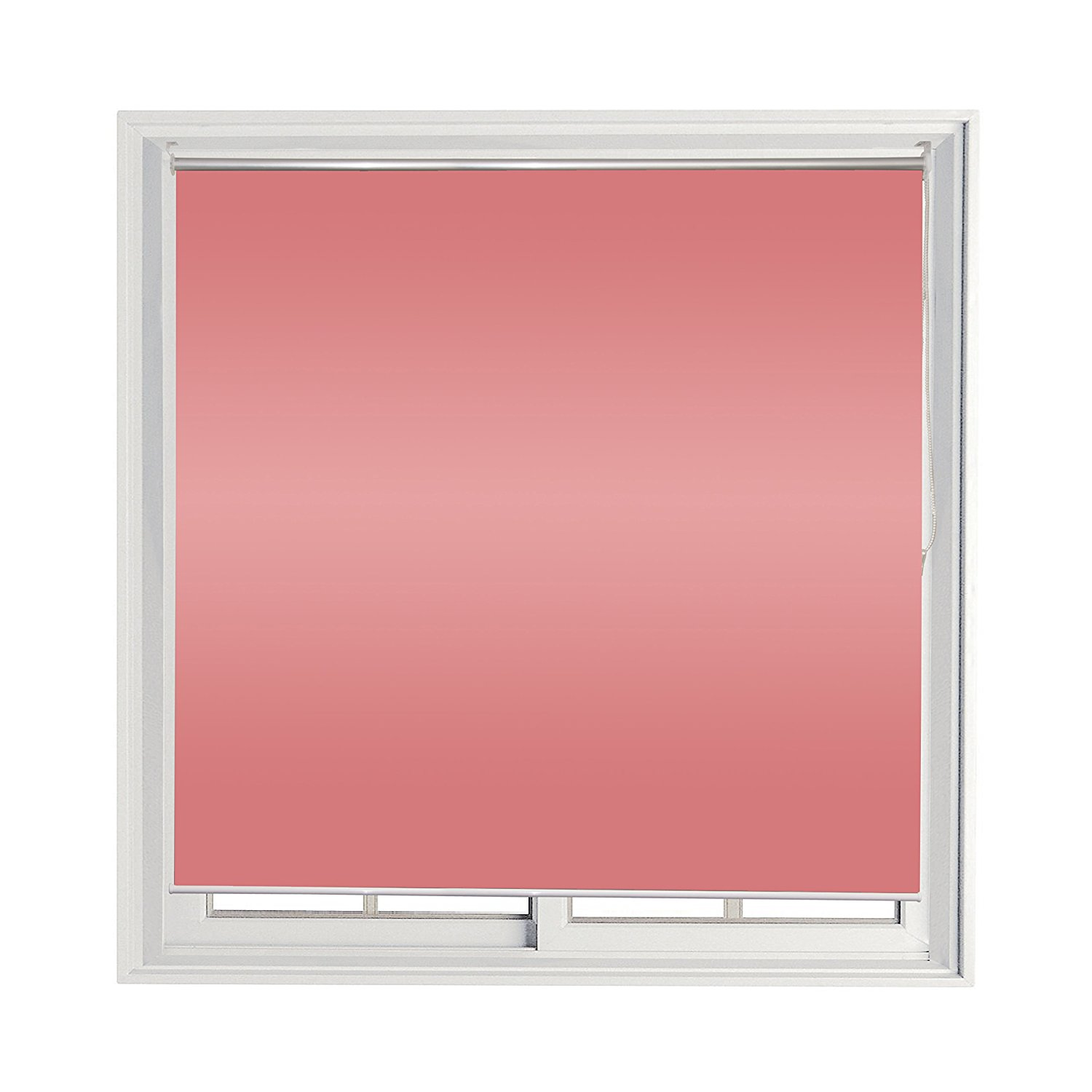 Roll Up Shade Windscreen Sunshade Blinds 72 X 72 Inches, Pink
