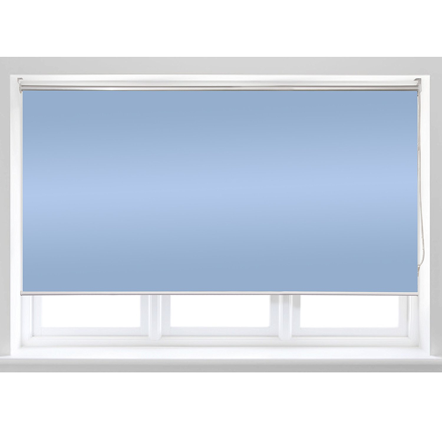 Roll Up Shade Windscreen Sunshade Blinds 96 X 72 Inches, Blue