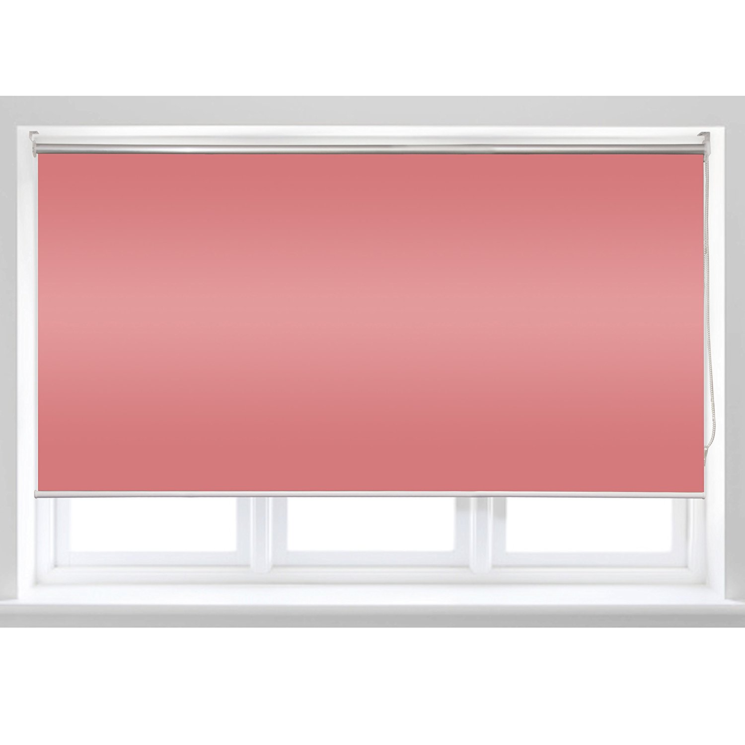 Roll Up Shade Windscreen Sunshade Blinds 96 X 72 Inches, Pink