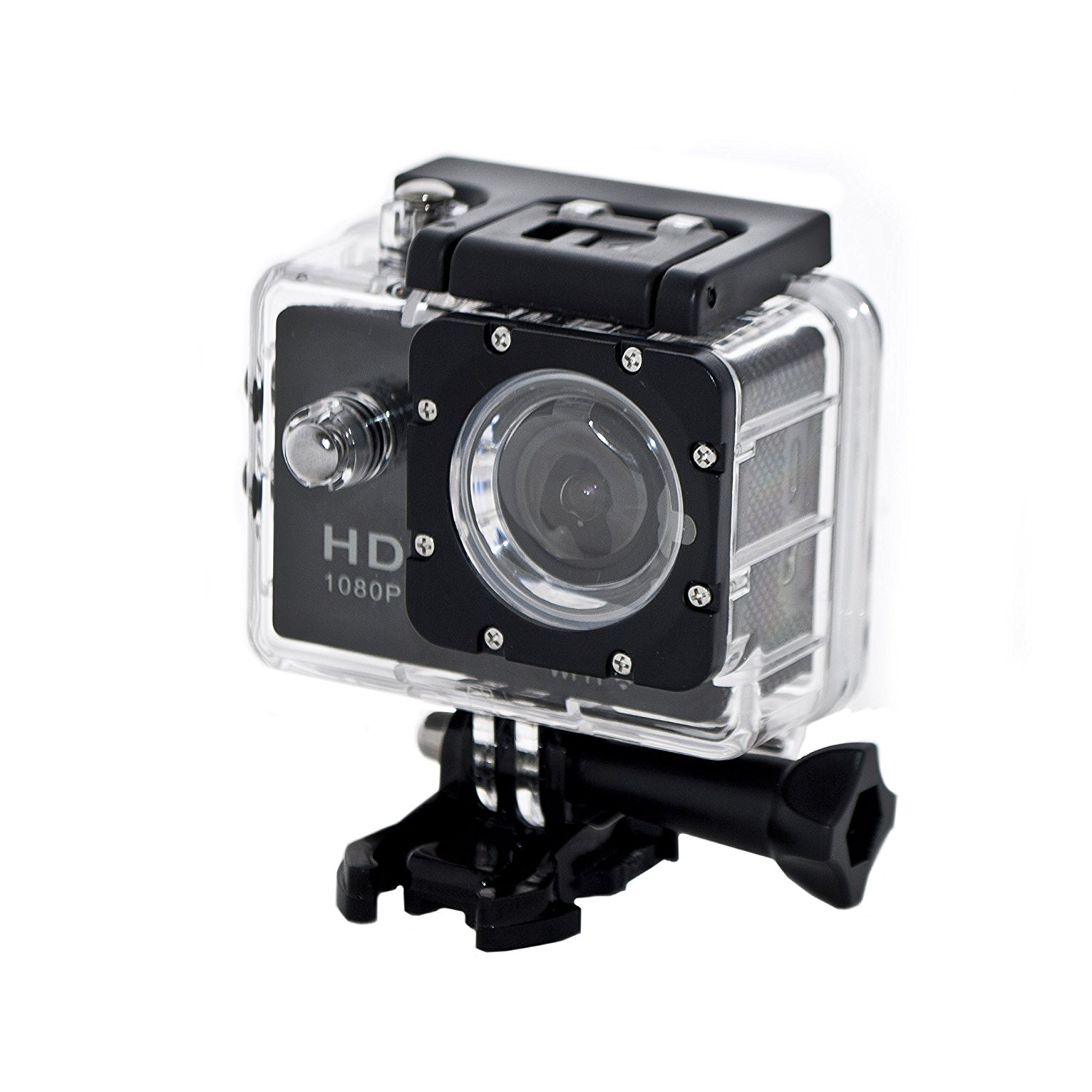 ASPC001 2.0-Inch WiFi HD 1080P 12MP Sports Waterproof Digital Camera