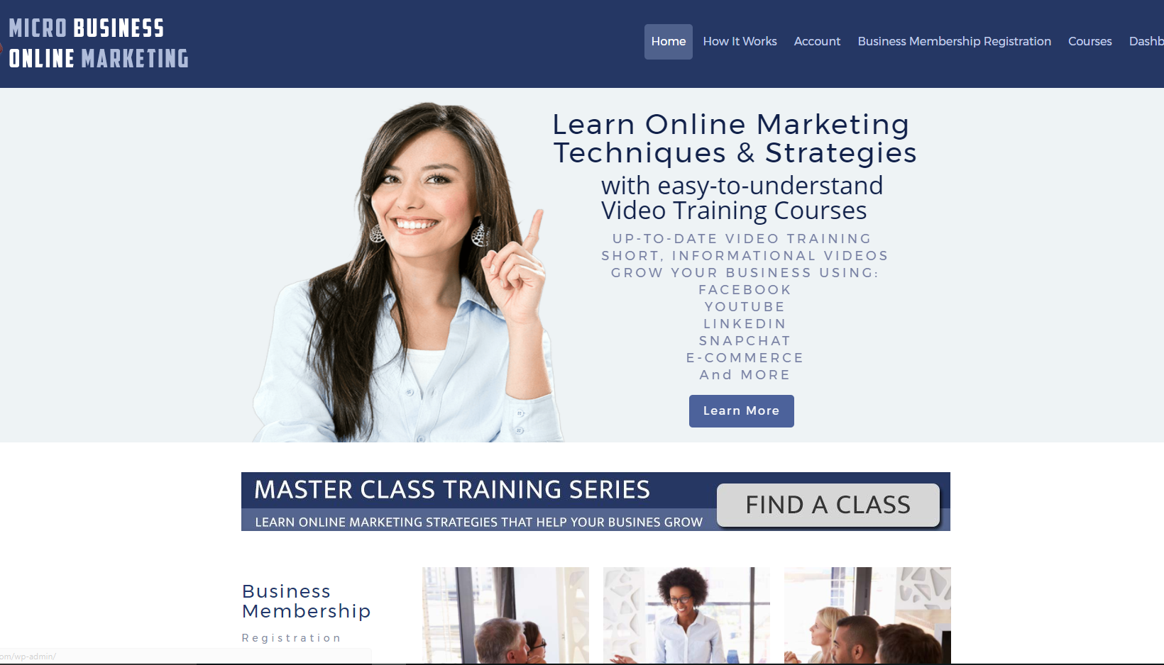 Online Marketing Video Training Courses