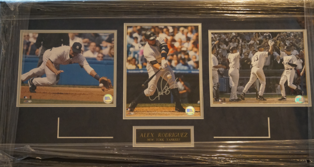 Alex Rodriguez Signed Photo