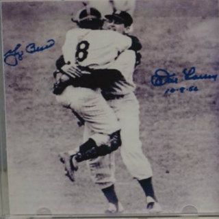 Signed Perfect Pitch CD by Don Larsen and Yogi Berra