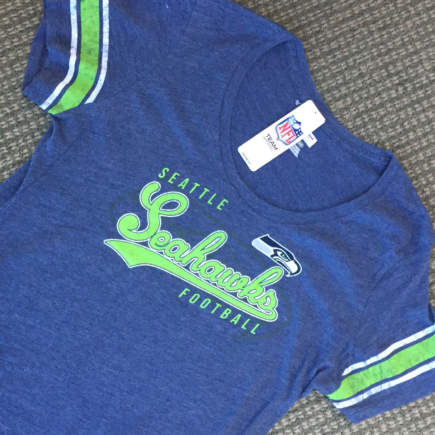 Seahawks Ladies XXL Tee