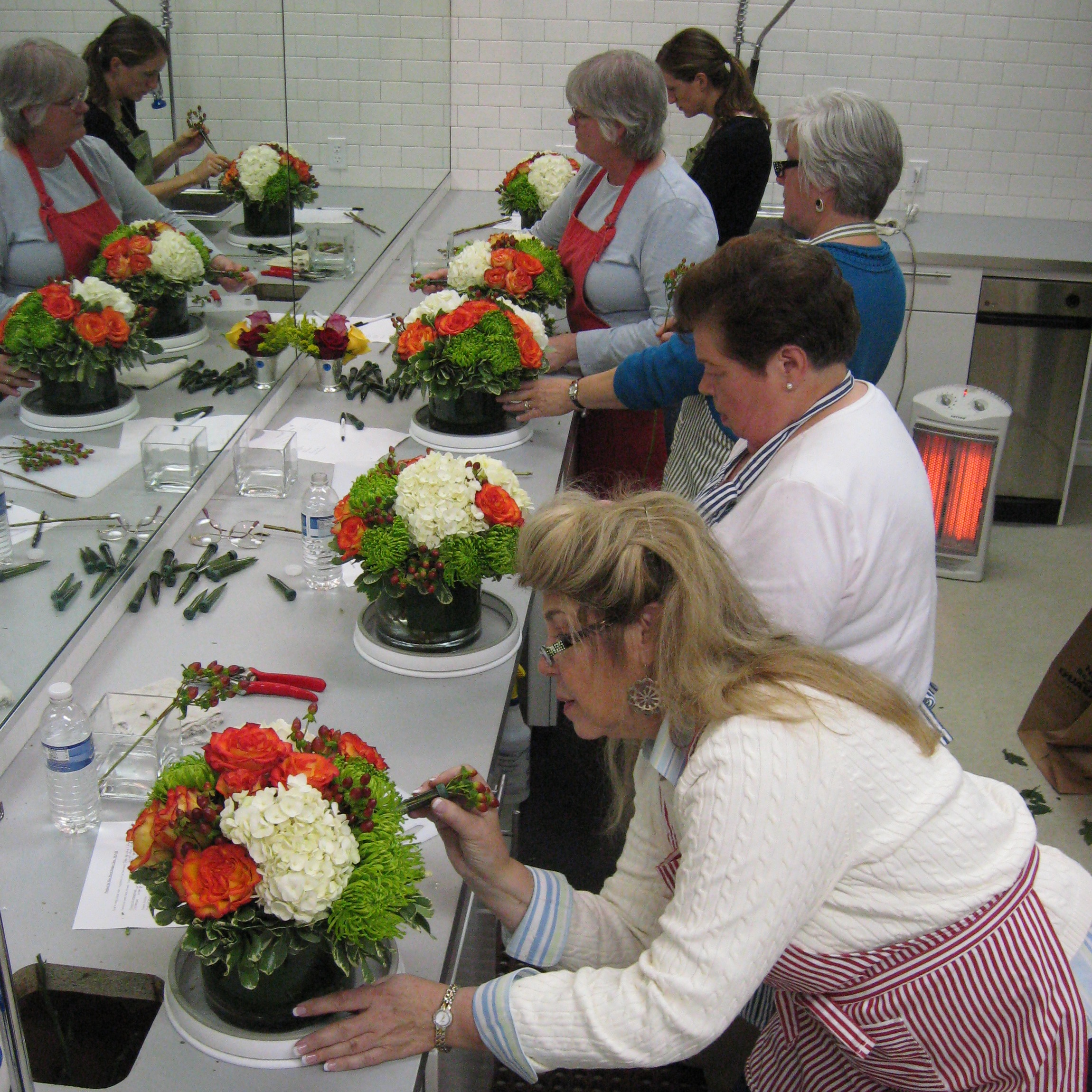 December 14th Holiday Centerpiece Floral Design Class